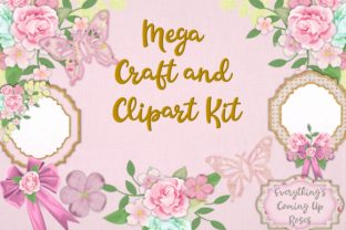 Raspberry Sorbet Mega Craft Bundle Graphic By The Paper Princess