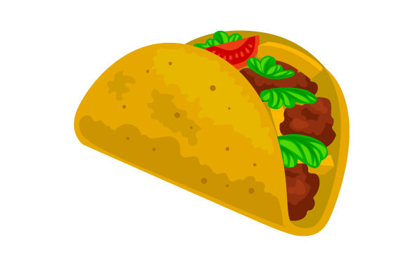 Download Free Realistic Taco Svg Cut File By Creative Fabrica Crafts for Cricut Explore, Silhouette and other cutting machines.