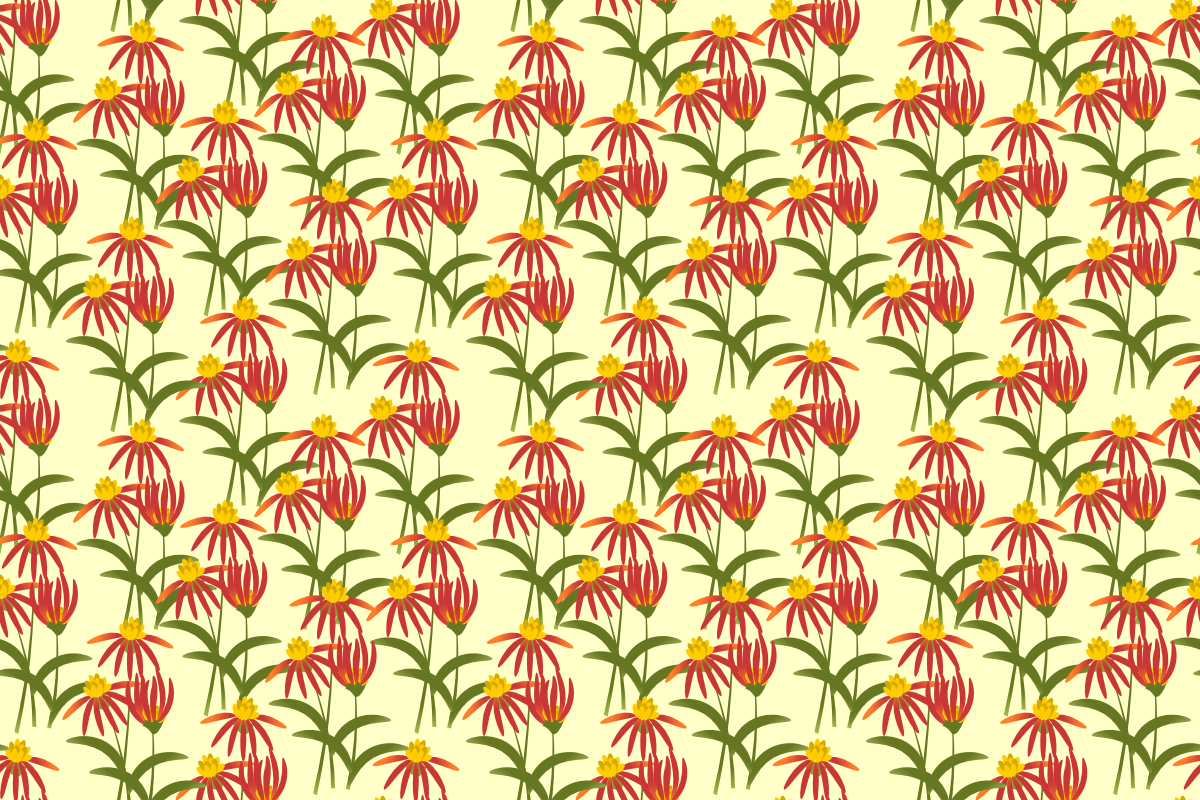 Download Free Red Flower Seamless Pattern Graphic By Thanaporn Pinp Creative for Cricut Explore, Silhouette and other cutting machines.