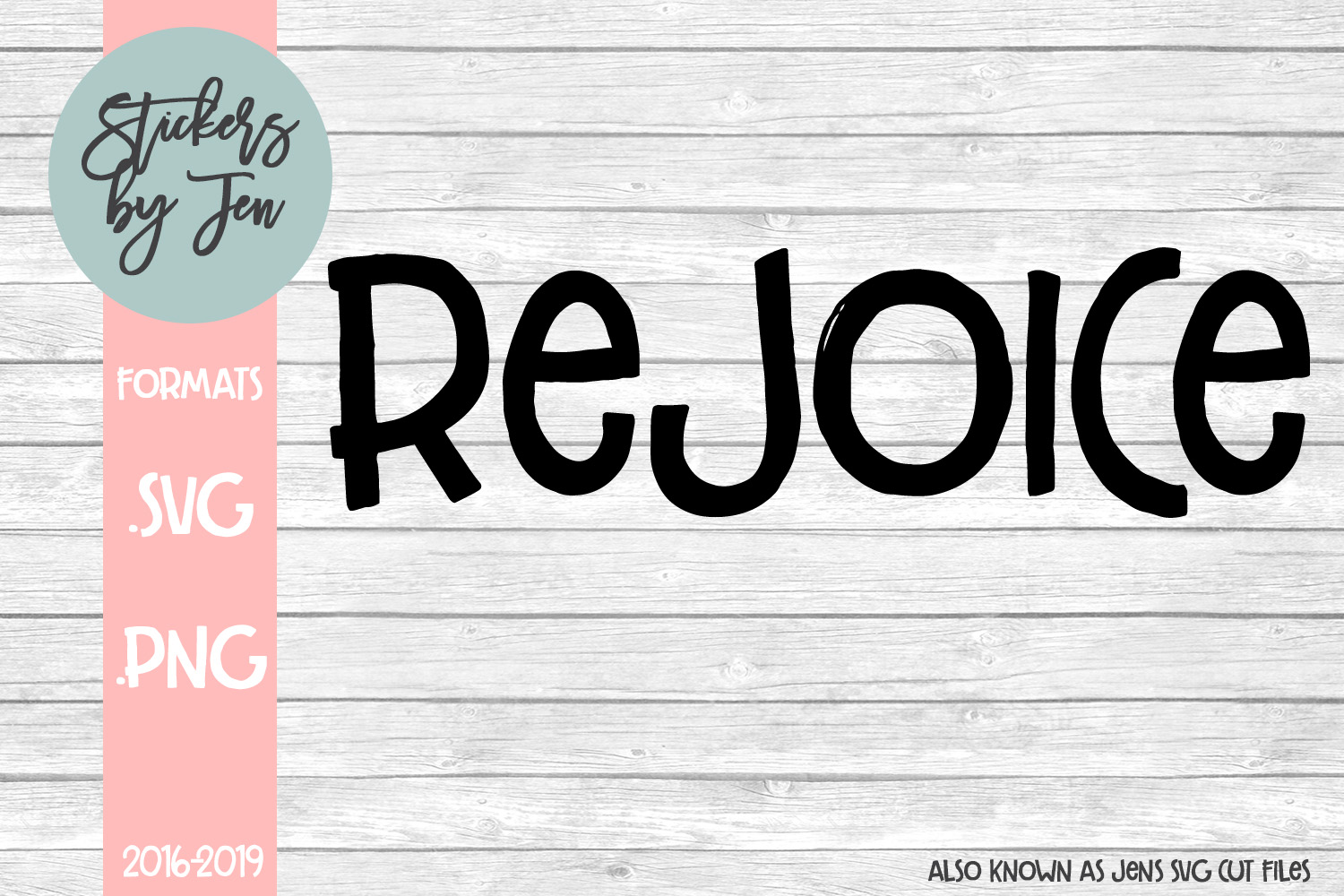 Download Free Rejoice Graphic By Jens Svg Cut Files Creative Fabrica for Cricut Explore, Silhouette and other cutting machines.