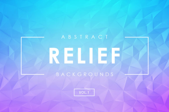 Print on Demand: Relief Abstract Backgrounds 2 Graphic Backgrounds By ArtistMef