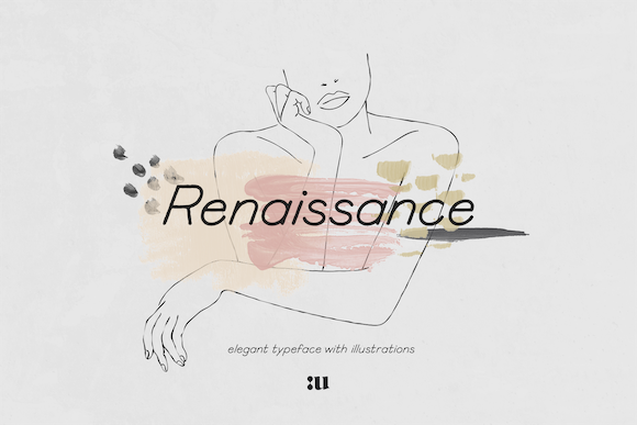 Renaissance Display Font By unio.creativesolutions