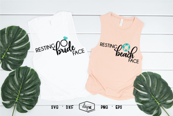 Resting Bride Face - Resting Beach Face Graphic By Sheryl Holst