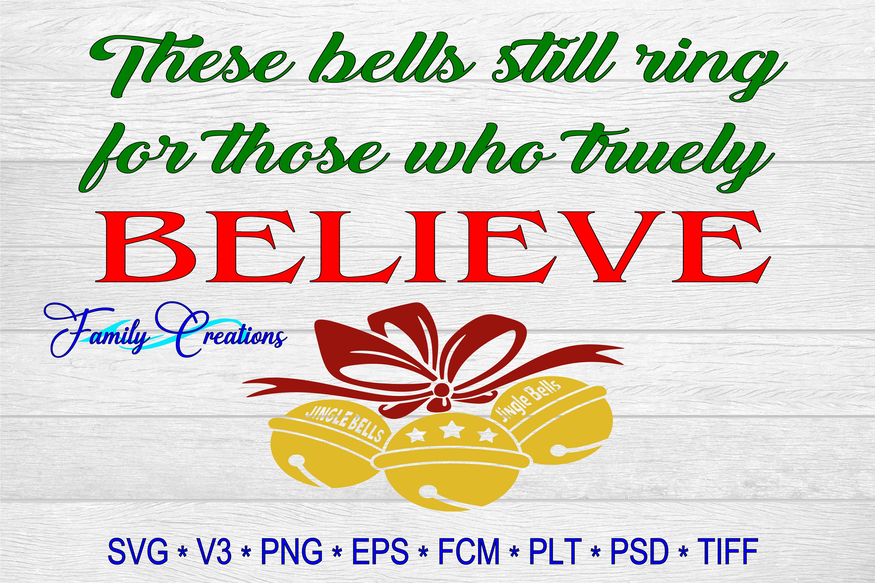 Download Free Rings For Those Who Truly Believe Graphic By Family Creations SVG Cut Files