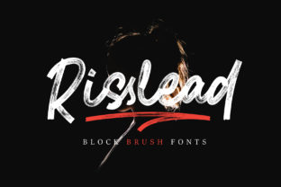 Risslead Font By stefiejustprince