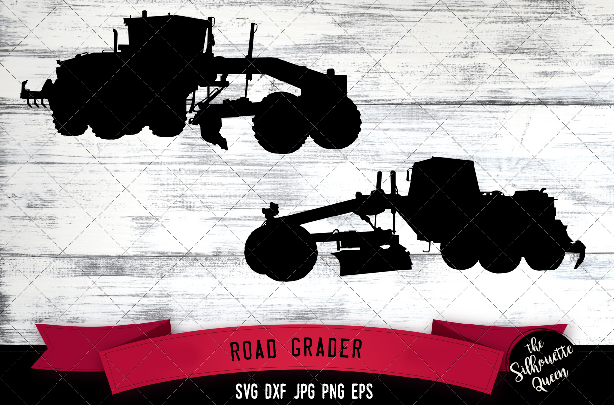 Download Free Road Grader Graphic By Thesilhouettequeenshop Creative Fabrica for Cricut Explore, Silhouette and other cutting machines.