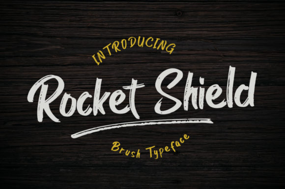Print on Demand: Rocket Shield Display Font By Madatype Studio