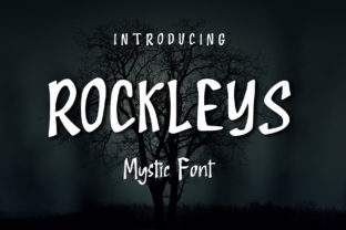 Print on Demand: Rockleys Display Font By LakuFont