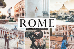 Rome Pro Lightroom Presets Graphic By Creative Tacos