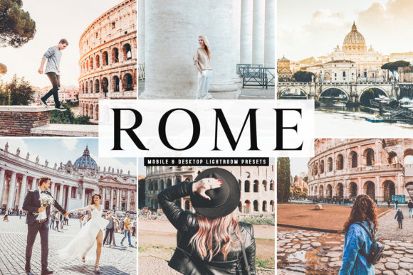 Print on Demand: Rome Pro Lightroom Presets Graphic Actions & Presets By Creative Tacos