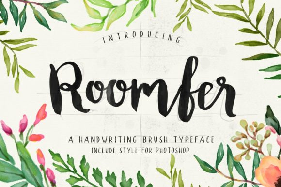 Print on Demand: Roomfer Script & Handwritten Font By Alit Design