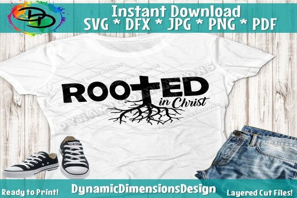 Print on Demand: Rooted in Christ Graphic Crafts By dynamicdimensions