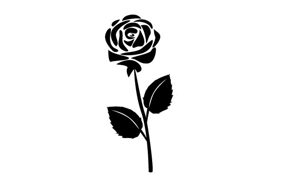 Download Free Rose Tattoo Art Style Archivos De Corte Svg Por Creative Fabrica for Cricut Explore, Silhouette and other cutting machines.