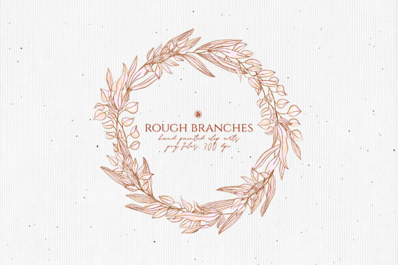 Print on Demand: Rough Branches Graphic Illustrations By webvilla - Image 2