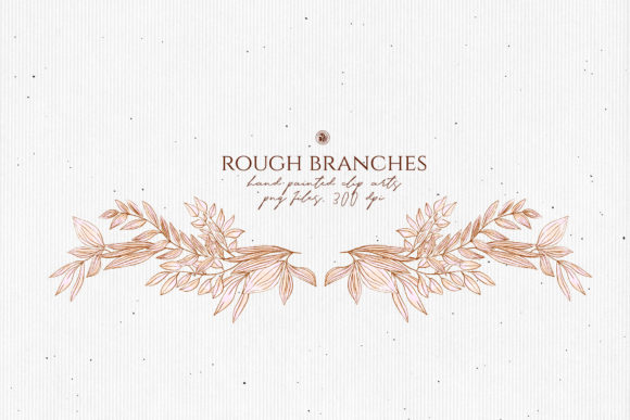 Print on Demand: Rough Branches Graphic Illustrations By webvilla - Image 4
