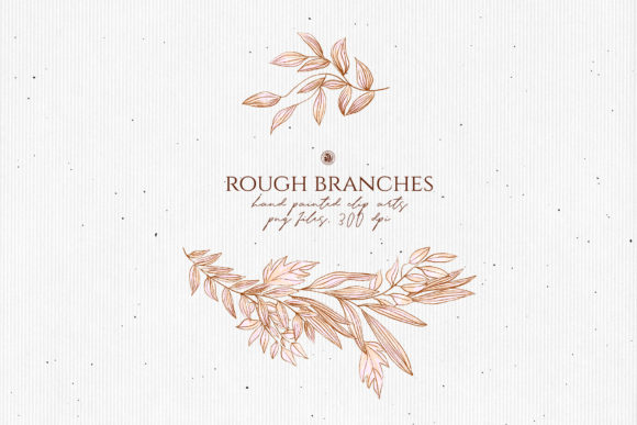 Print on Demand: Rough Branches Graphic Illustrations By webvilla - Image 5