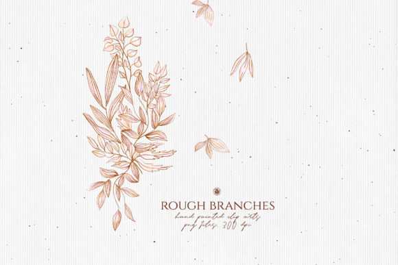 Print on Demand: Rough Branches Graphic Illustrations By webvilla - Image 6