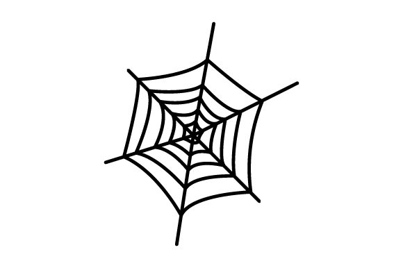 Round Spider Web - Halloween Halloween Craft Cut File By Creative Fabrica Crafts