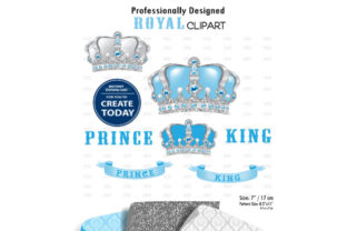 Royal Crown Clipart Graphic By adlydigital