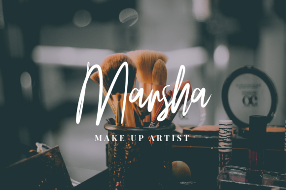 Print on Demand: Rusher Script & Handwritten Font By Yusuf Artworks - Image 3
