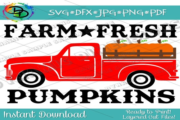 Download Free Farm Fresh Pumpkins Grafico Por Dynamicdimensions Creative Fabrica for Cricut Explore, Silhouette and other cutting machines.