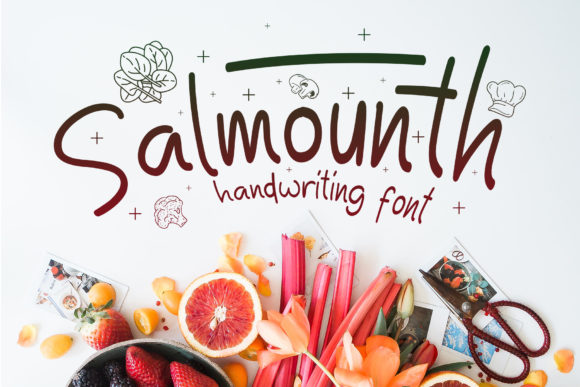 Print on Demand: Salmounth Display Font By Gumacreative