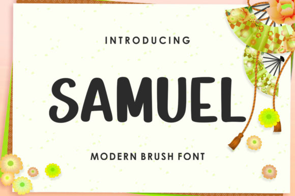Print on Demand: Samuel Display Font By gianstudio12