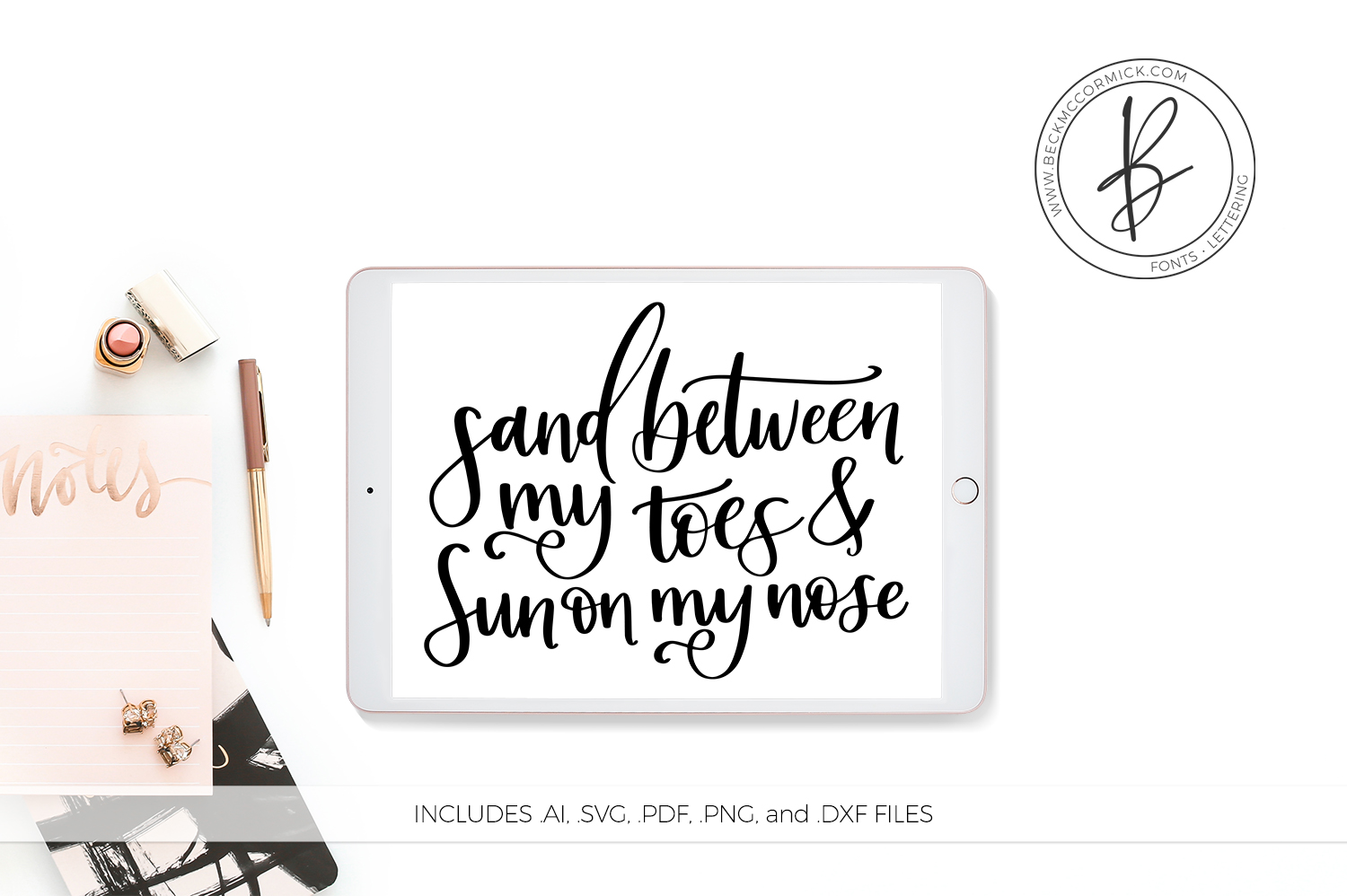 Sand Between My Toes Graphic By Beckmccormick Creative Fabrica