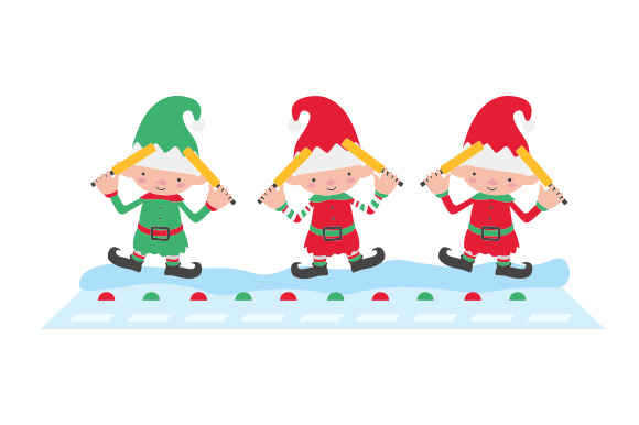 Download Free Santa S Runway Svg Cut File By Creative Fabrica Crafts for Cricut Explore, Silhouette and other cutting machines.