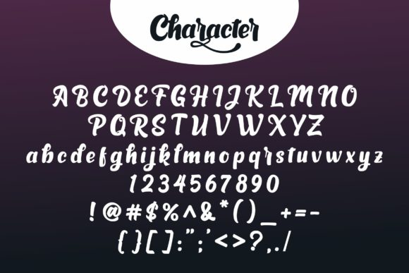 Print on Demand: Sarllett Display Font By DUMADI - Image 2