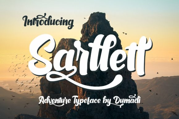 Print on Demand: Sarllett Display Font By DUMADI