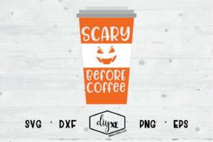 Scary Before Coffee Graphic By Sheryl Holst