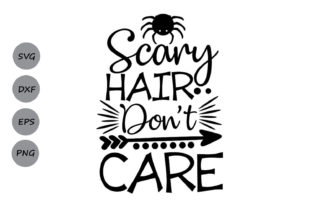 Scary Hair Don T Care Graphic By Cosmosfineart Creative Fabrica