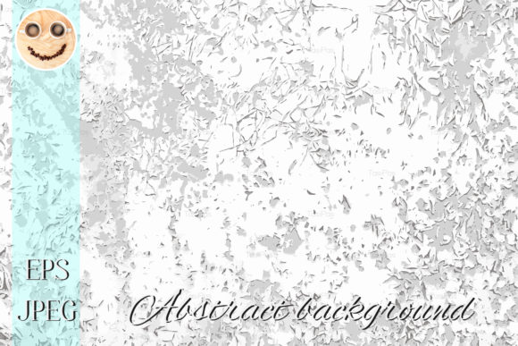 Print on Demand: Scratch Old Paint Vector Black and White Graphic Textures By TasiPas