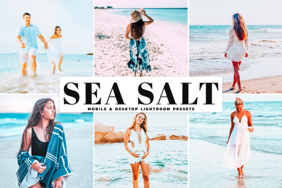 Print on Demand: Sea Salt Lightroom Presets Pack Graphic Actions & Presets By Creative Tacos