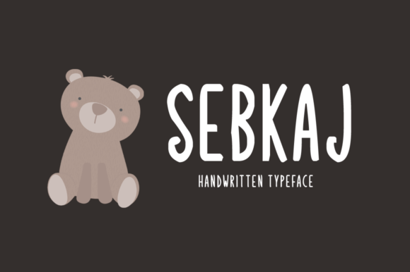 Print on Demand: Sebkaj Display Font By Shattered Notion