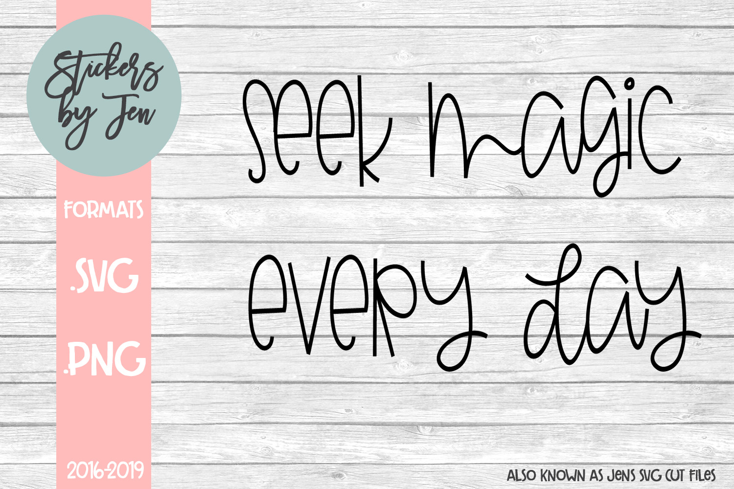 Download Free Seek Magic Everyday Graphic By Stickers By Jennifer Creative SVG Cut Files