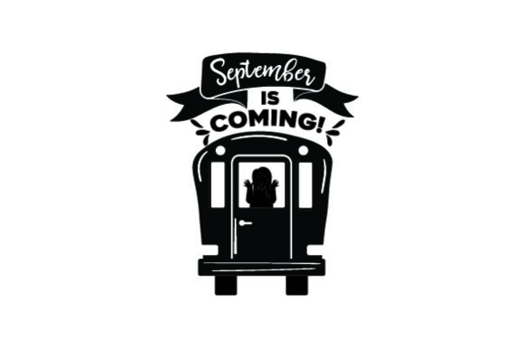 September is Coming! - Back to School School & Teachers Craft Cut File By Creative Fabrica Crafts - Image 2