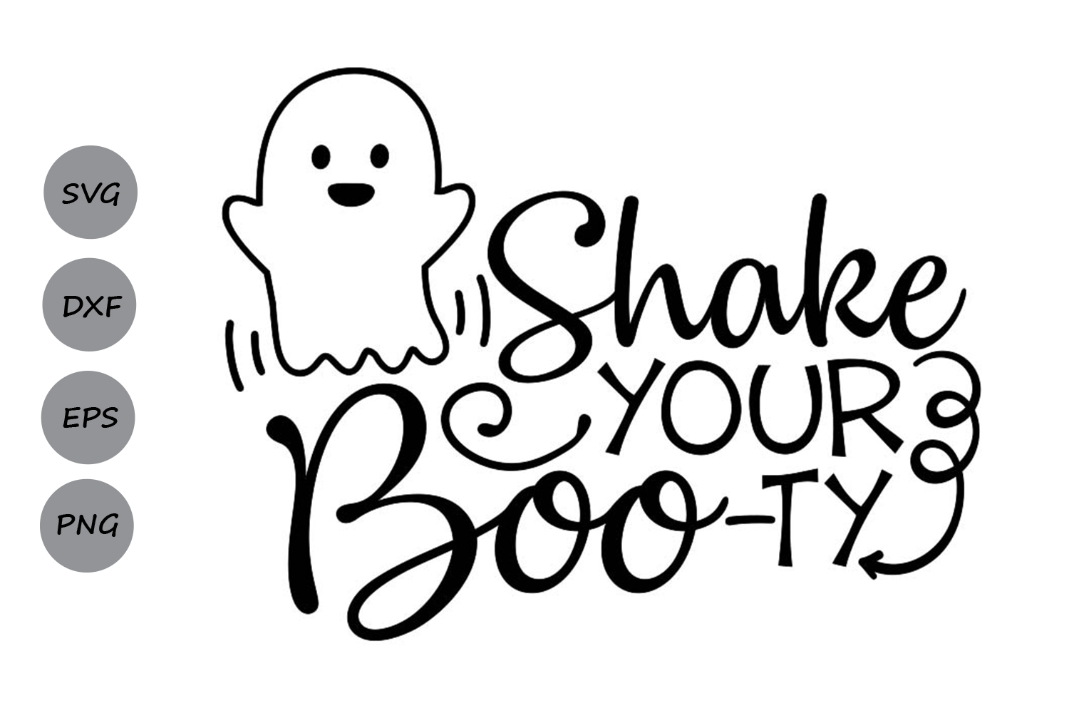 Download Free Shake Your Boo Ty Graphic By Cosmosfineart Creative Fabrica SVG Cut Files