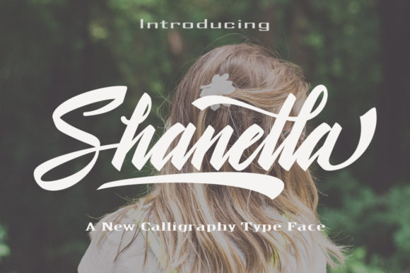 Print on Demand: Shanella Script & Handwritten Font By faisal_Alfaraby