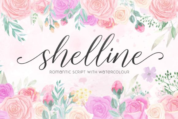 Print on Demand: Shelline Script & Handwritten Font By almarkhatype - Image 11