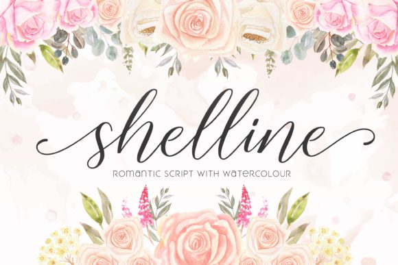 Print on Demand: Shelline Script & Handwritten Font By almarkhatype - Image 1