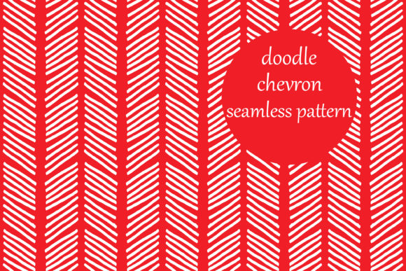 Download Free Simple Doodle Chevron Stripes Pattern Graphic By Brightgrayart SVG Cut Files