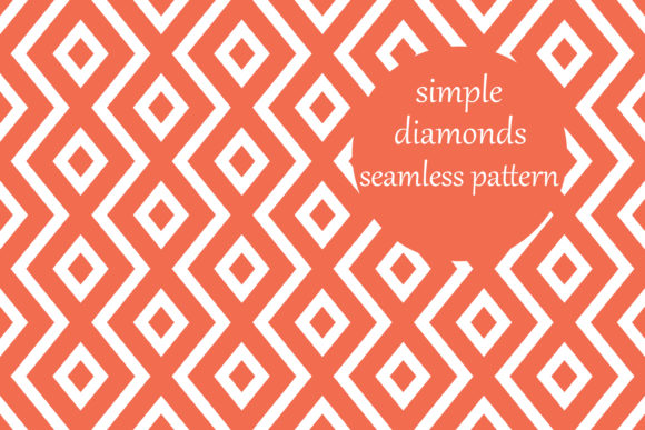 Download Free Simple Geometric Diamond Zig Zag Pattern Grafico Por SVG Cut Files