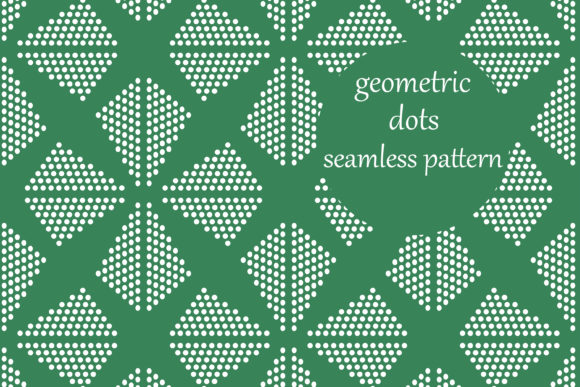 Download Free Simple Geometric Dots Pattern Graphic By Brightgrayart Creative Fabrica for Cricut Explore, Silhouette and other cutting machines.