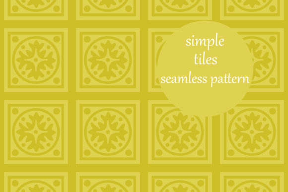 Simple Geometric Square Tiles Pattern Graphic By Brightgrayart