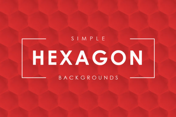 Download Free Simple Haxagon Backgrounds Graphic By Artistmef Creative Fabrica SVG Cut Files