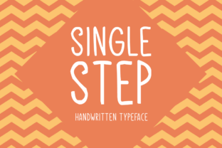 Single Step Font By Shattered Notion