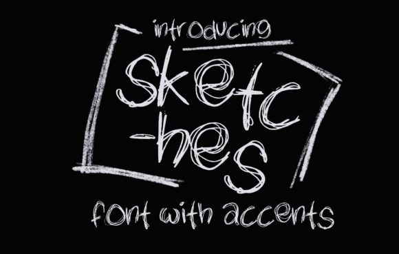 Print on Demand: Sketches Decorative Font By lunarctic