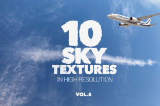 Sky Textures Vol 5 X10 Graphic By SmartDesigns
